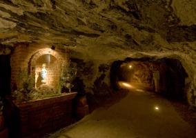 Interior minas de Almadén