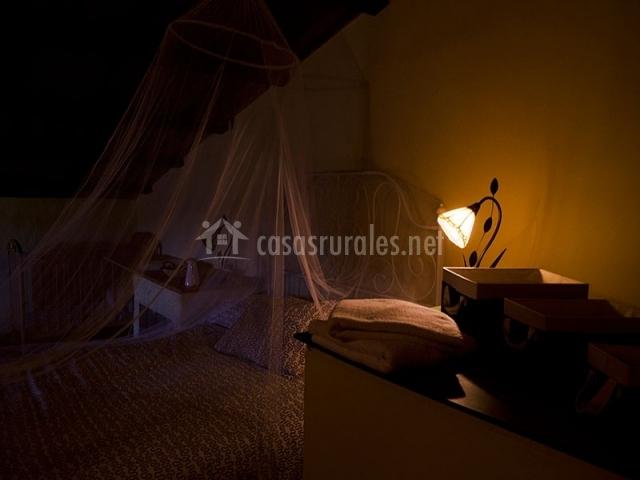 Dormitorio a oscuras