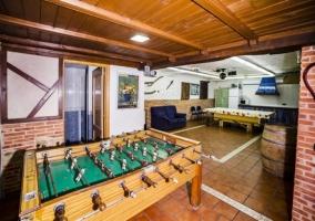 Sala de juegos de la vivienda