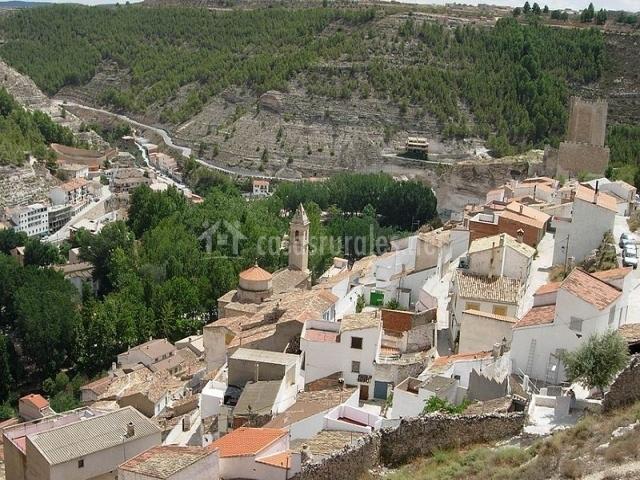 Casa rural el aljibe alcal del j car en la gila albacete - Casa rural el castillo alcala del jucar ...