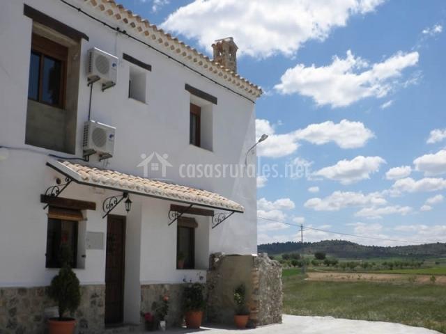 Casa rural el aljibe alcal del j car casa rural en la gila albacete - Casa rural el castillo alcala del jucar ...