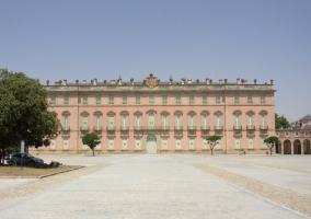 Vista del Palacio Real de Riofrío