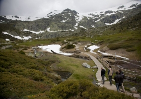 Vista del Parque Nacional de la Sierra de Guadarrama