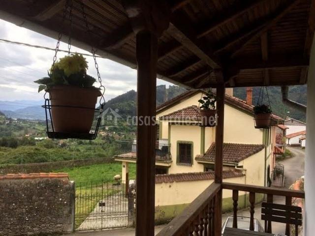 Vistas desde la terraza abierta al entorno