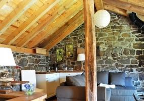 Zona de estar y cocina