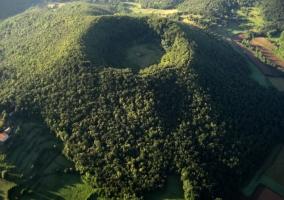 Región volcánica de La Garrocha