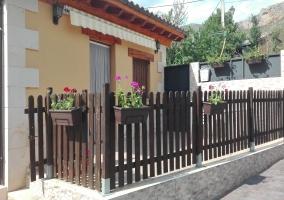 La casa y los exteriores