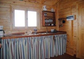 Cocina en madera