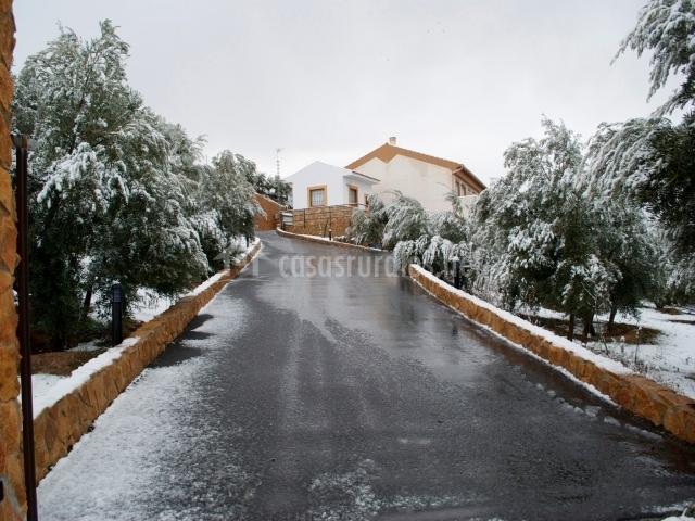 Entrada nevada