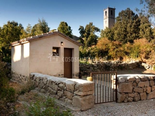 Casa rural el caldero en sorihuela salamanca for Caseta para bicis