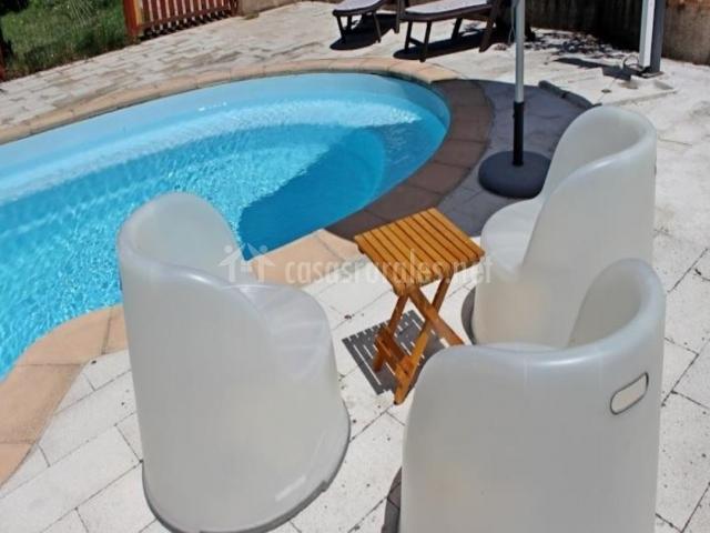 Complejo rural finca la coronilla en jarandilla c ceres for Complejo rural con piscina