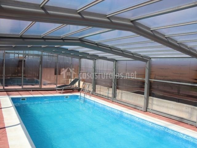 Casa piscina climatizada piscina climatizada casa piscina climatizada casa con piscina - Casa rural con piscina cubierta ...