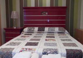 Habitación con 2 camas