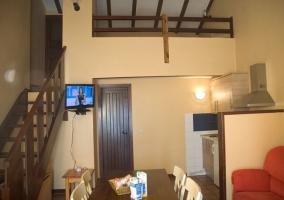 Salón, comedor y cocina