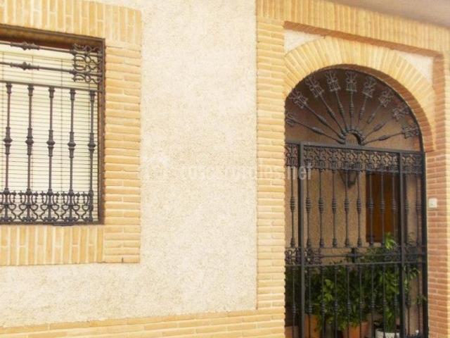 Vistas de la entrada principal