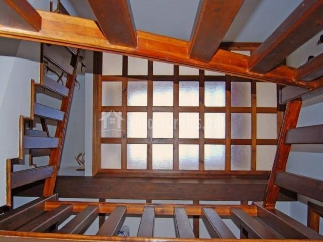 Vistas del techo desde abajo