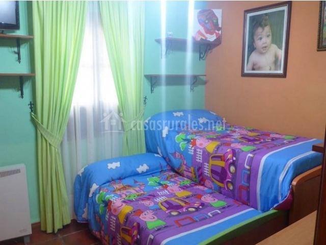 Habitación especial para niños
