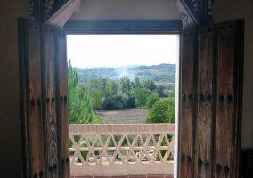 Vista pisajística desde la vivienda