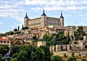 Zona centro de Toledo con buenas vistas