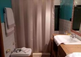 Aseo de la casa con toallas