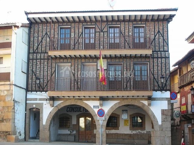 Casa rural las canalejas en sotoserrano salamanca - Casa rural sotoserrano ...