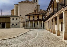 Zona de la plaza en Colmenar de Oreja