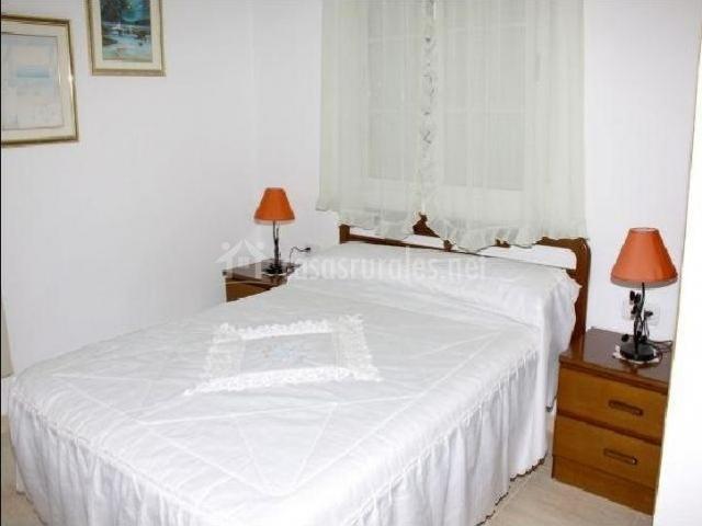 Dormitorio en color blanco