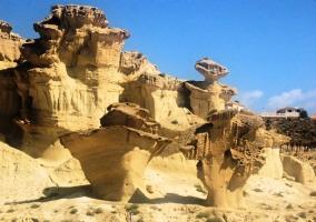 Erosiones en la Playa de Bolnuevo