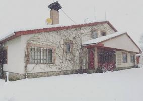 Fachada nevada