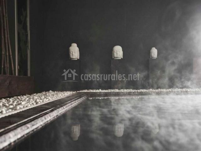 SPA con detalle zen