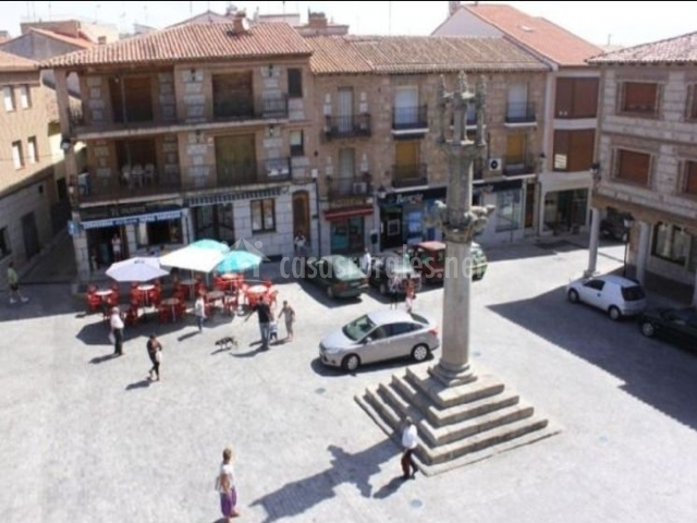 Zona de la plaza
