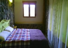 Dormitorio amplio de la casa