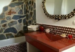 Baño Centaurea con bañera