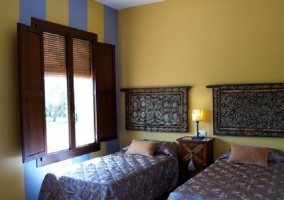 Habitación Jaguarzo con camas separadas