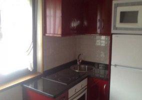 Cocina equipada con electrodomésticos