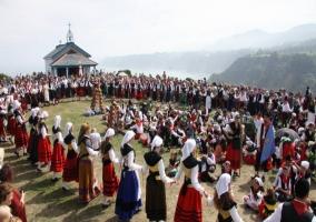 Fiesta de la Regalina en el pueblo