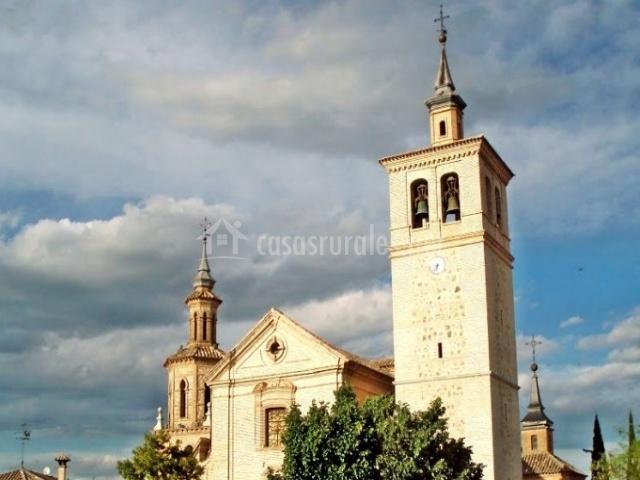 Zona de la iglesia de San Pedro en el centro
