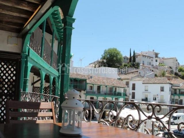 Vistas de la terraza de un alojamiento