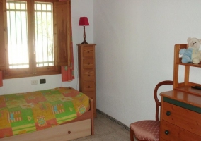 Dormitorio infantil en madera