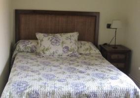 Dormitorio de matrimonio de la casa rural
