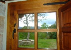 Vistas al exterior desde la ventana