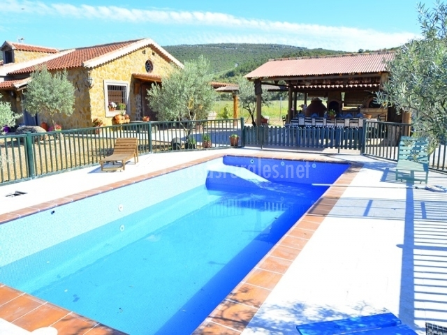 Vistas de la piscina