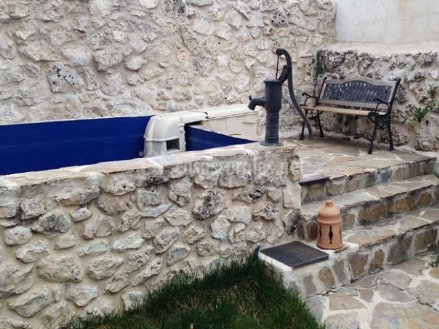 La casa de la alberca en hontalbilla segovia - Piscina climatizada segovia ...