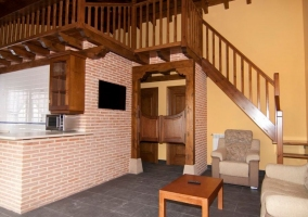 Dormitorio apartamento dúplex