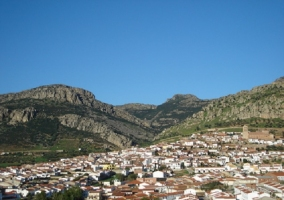 Vista de Hornachos, Badajoz