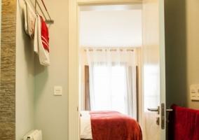 Dormitorio 1 rojo