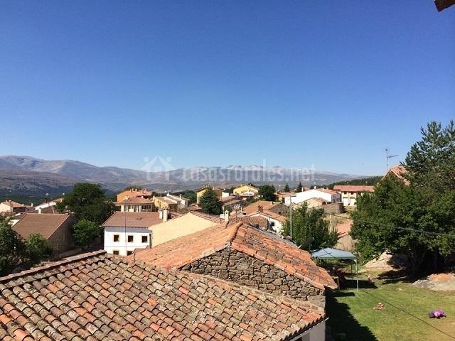 Vistas del pueblo de Barajas