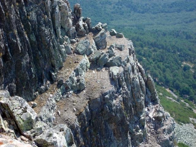 Vista desde las montañas de Las Batuecas y Sierra de Francia