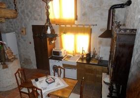 Lámpara, decoración del salón