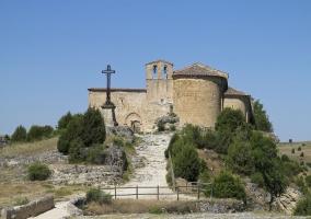 Ermita de San Frutos junto al río Duratón
